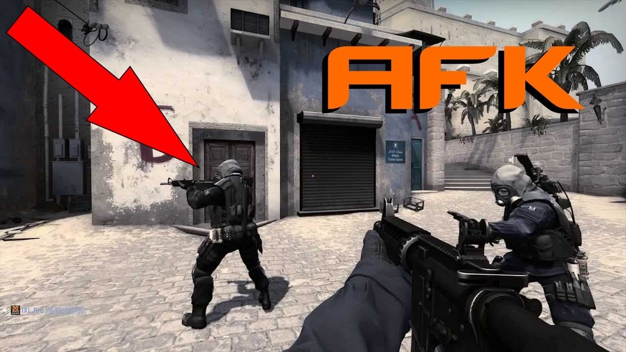 [CS:GO/CS:S] Простой AntiAFK / Simple CSGO AntiAFK