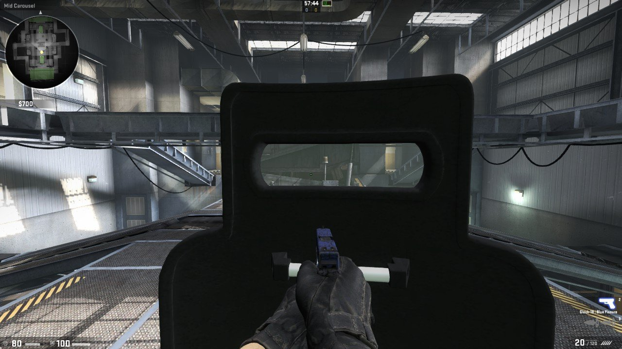 [CS:GO] Тактический щит / Tactical Shield