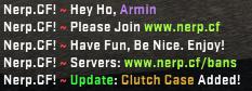 [CS:GO/CS:S] Приветственное сообщение / Welcome Chat Message (WCM)