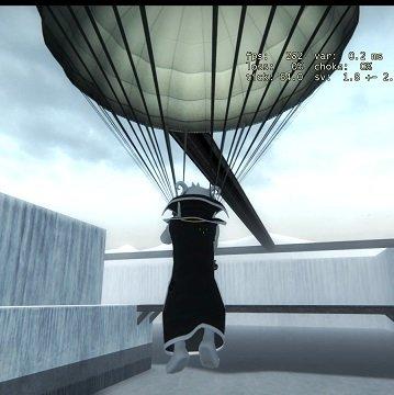 [CS:GO]Парашют CS:GO на сервер /  Parachute - CS:GO internal parachute