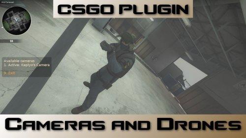 [CS:GO] Камеры и дроны / Cameras and Drones