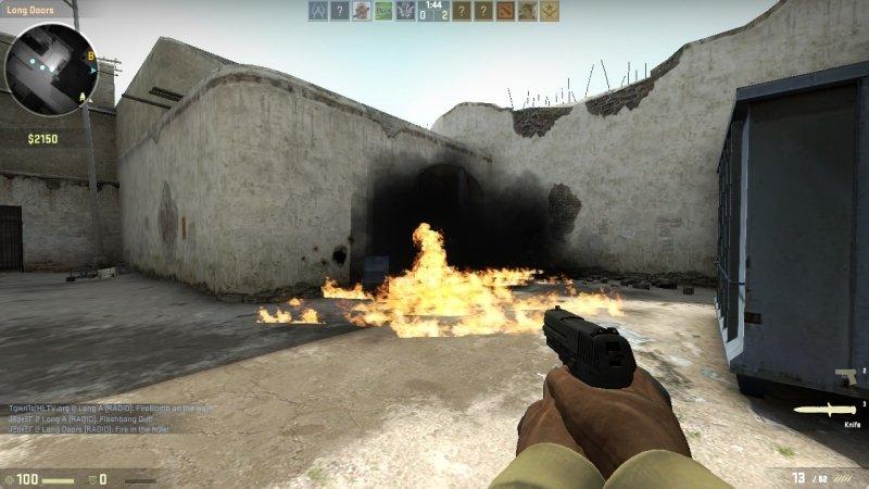 [CS:GO] Взрыв упавших гранат / Explode Dropped Grenades