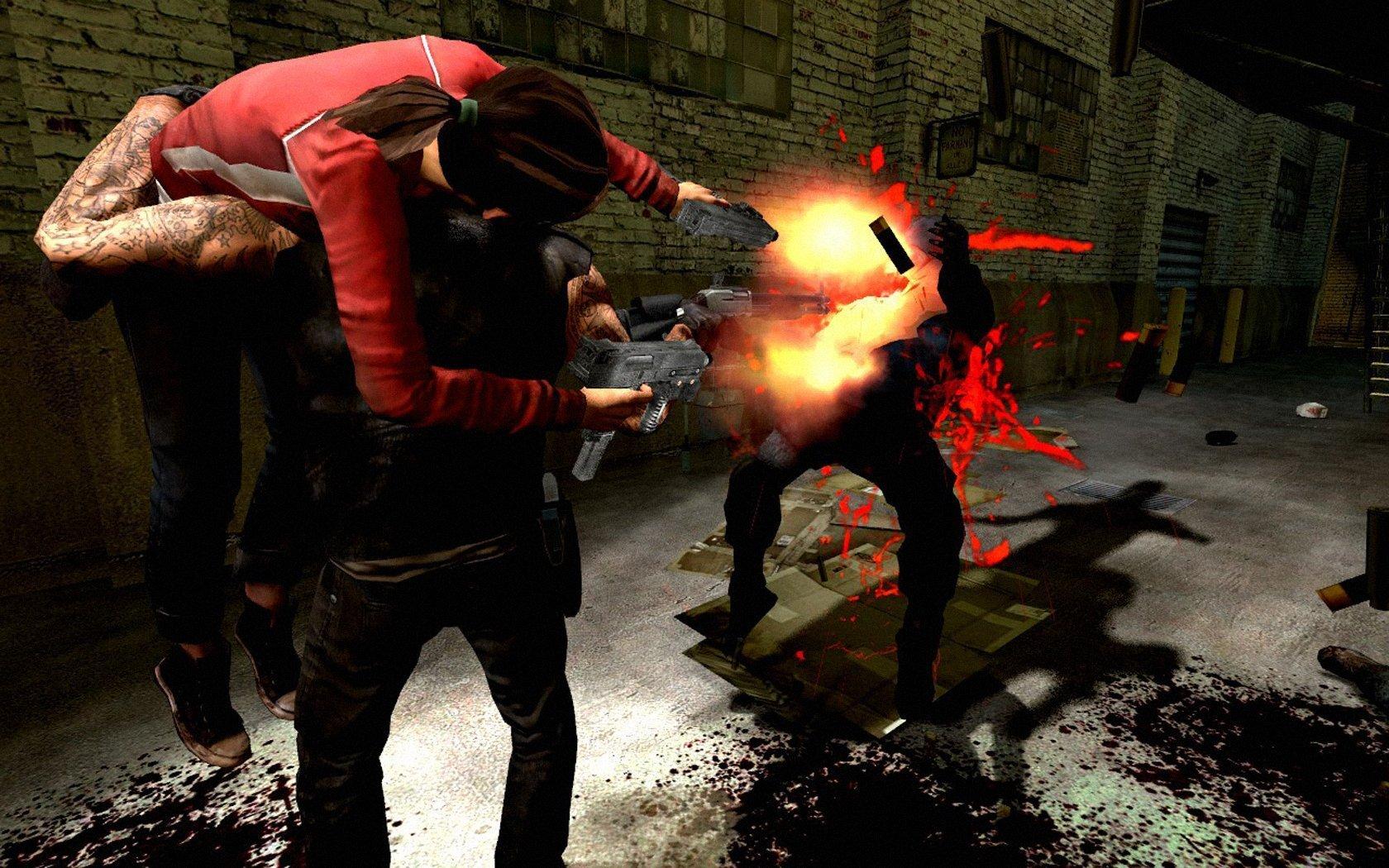[L4D2]Гранаты у раненых / Incapped Grenade (Pipe/Molotov/Vomitjar)